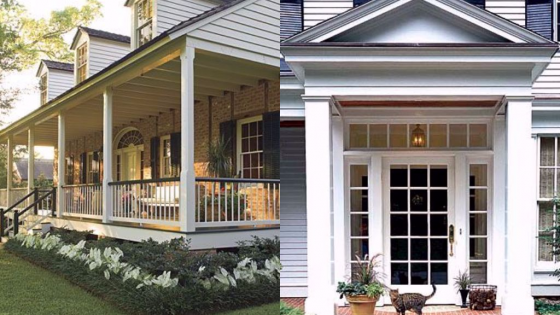 porch vs portico